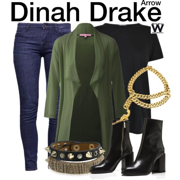 Inspired by Juliana Harkavy as Dinah Drake on Arrow.