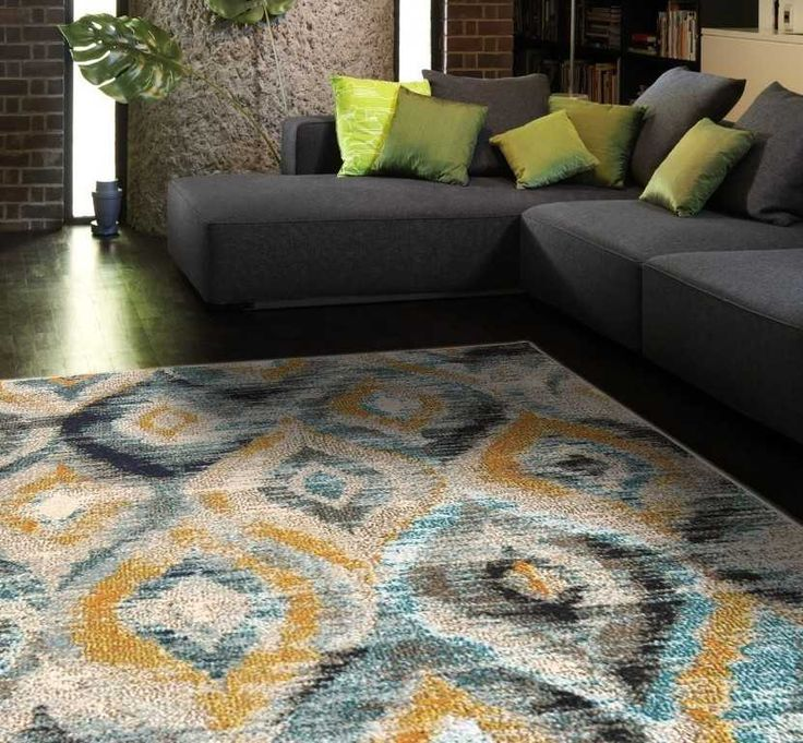 Colores COL09 Multi Rugs   Modern Rugs