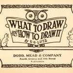 Lær å tegne som i 1913