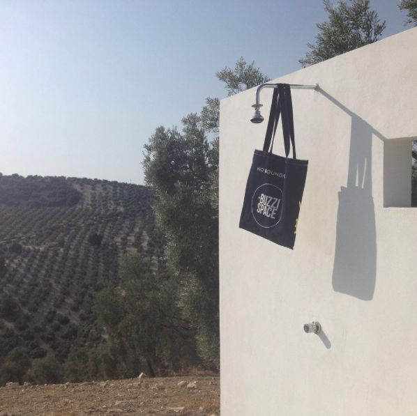 BuzziSpace tote bag in Andalusia