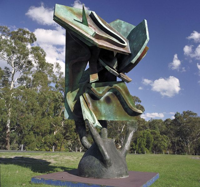 Ripening by Andrew Rogers, 1999. Silicon Bronze.