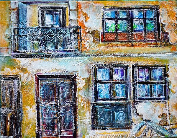 Old wall, old wooden doors and windows,,,great occasions for texture, patina...