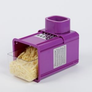 Purple Multi Grater with Drawer.