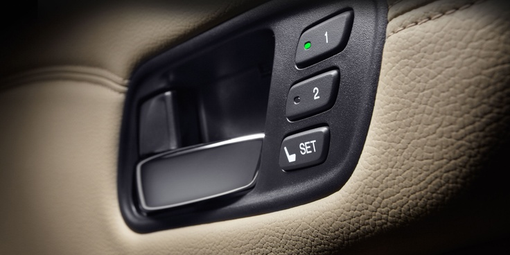 Multi-position seat memory allows for a customized driving experience for both of you.