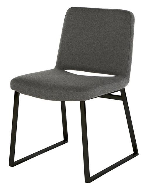 GlobeWest - Elle Powdercoated Frame Dining Chair