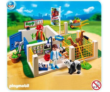 Playmobil Zoo Super Set Animal Care Station Playmobils