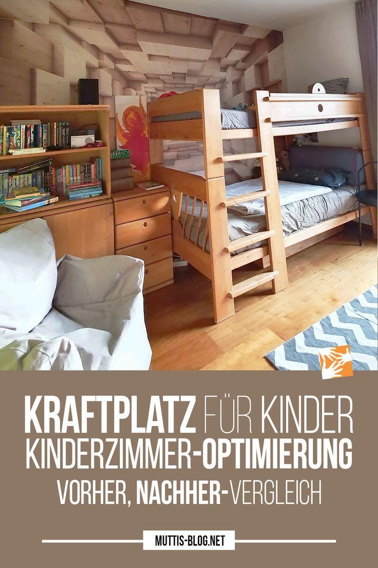 Ein Kraftplatz für Kinder: Kinderzimmer-Optimierung