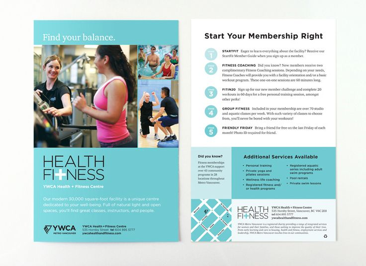 Image Result For Fitness Brochure | Villasport Fitness Brochure