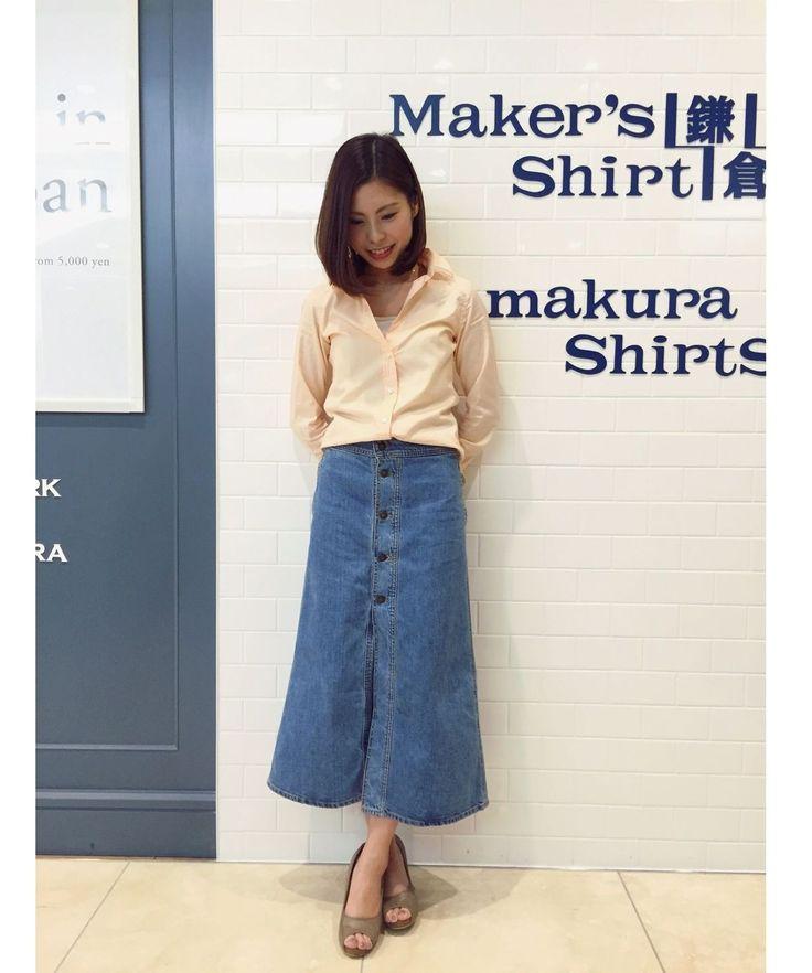 大人気スキッパーシャツ! 鎌倉シャツコーデ