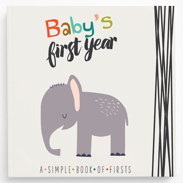 Little Animal Baby Keepsake Book - a great gift for a baby shower!