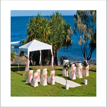 Kings Beach in Caloundra has many outlooks for weddings. www.caloundraweddincollective.com.au
