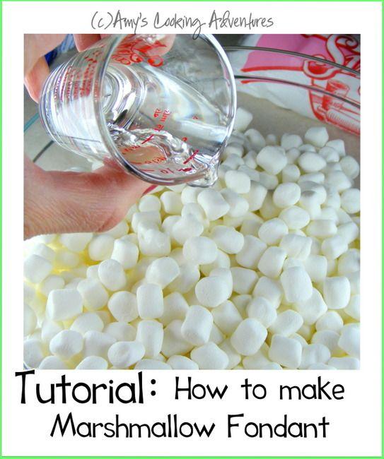 DIY Marshmallow Fondant Tutorial