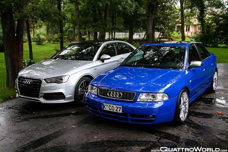 B5 S4 vs 2015 A3 Audi