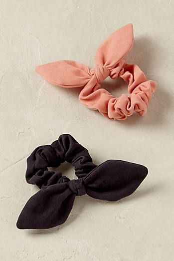 Minnie Bow Scrunchies