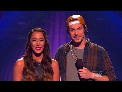 "Alex & Sierra Perform ""Gravity"" - THE X FACTOR USA 2013 - YouTube"