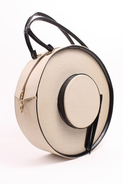 Vintage 60's Hat Box Handbag | Architect's Fashion