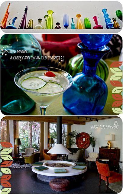 Caprese Martini - Citrus Infused Vodka, Quantro, Cucumber Slices, Cherry Tomatoes, Mozzarella cheese, Basil