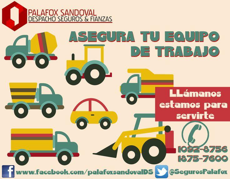 Seguro para tu equipo de trabajo #Flotillas #Autos #SegurosPalafox #BuenDia #Monterrey