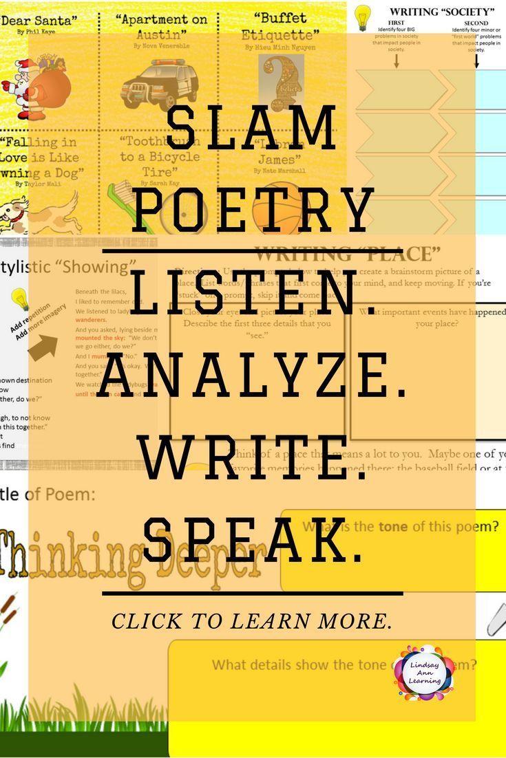 Poem Topics
