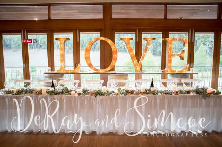 Weddings at Millbrook | DeRay and Simcoe | Vintage Letters & Co