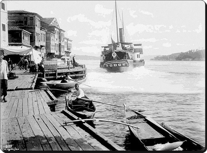 Rumelihisarı sahili - 1880'ler