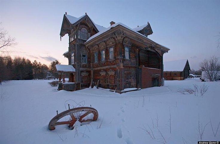 Rusya Eski Made in | ahşap villalar - koos.hu