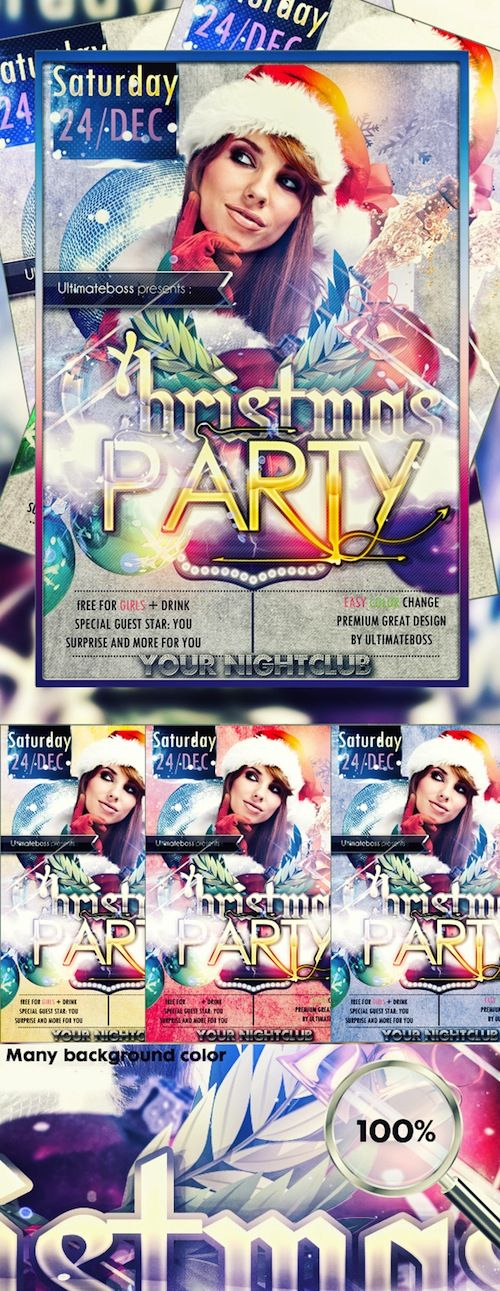Best 25+ Free christmas flyer templates ideas on Pinterest - holiday flyer template example 2