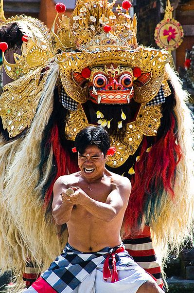 #Barong #dance: Barong is a lion-like creature and character in the mythology of…