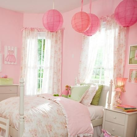 baby room curtains ideas | Kids Room Drapes on Pink Curtans For Kids Room Pink Curtains And ...