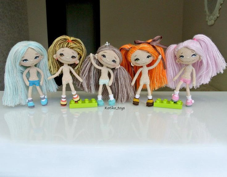 ♡ Amigurumi doll collection). (Inspiration).