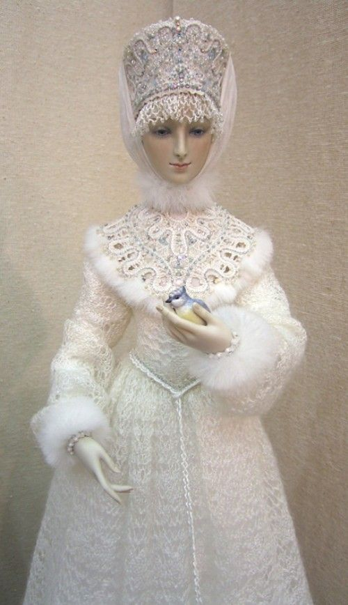Russian Snowmaiden Snegurochka