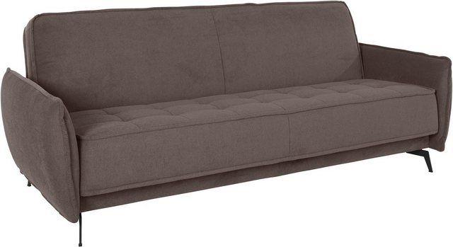 3 Sitzer Vigo Mit Schlaffunktion Und Bettkasten Zierkissen Bett Und Bettkasten