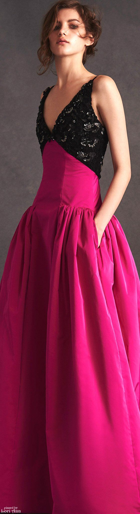 Wedding Fuschia Dress 17 best ideas about fuschia dress on pinterest pink giambattista valli dresses up ponytails with a hit of unexpected color