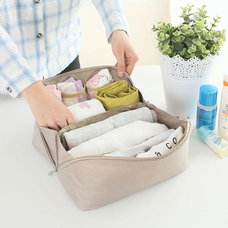 Travel Accessories Women Bra Holder Underwear Organizer Bags Portable Lingerie  Storage Bag Organizador