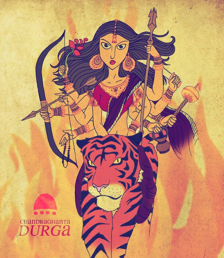 The third facet of Goddess Durga is 'Chandraghanta', who is worshipped on the third day of Navaratri, for peace, tranquility and prosperity in life. She is endowed with intense anger and violence, and...