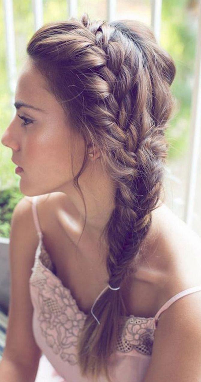 easy summer braids wedding hairstyles pinterest braids