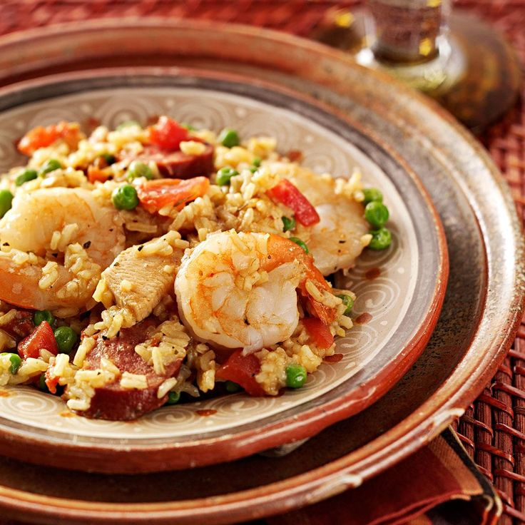 Sunday Paella Recipe -My adult children adore this recipe and look forward to eating it when they come to our house for lunch on Sundays after church. I do some preparation for this recipe before leaving for church on Sunday morning and finish it after church. That is why we call it Sunday Paella. — Linda Rhoads, Lebanon, Missouri