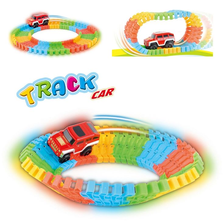56pcs/set Simulation of Electric Thomas Track Toy Train Baby's Car Model Baby Toy/Toy track car/Rail train model/cars gifts D003