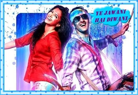 Ex-Couple, @Ranbirkapoor & @Deepika are Celebrating 'HOLI' in their upcoming movie, 'Ye Jawani Hai Diwani' & Seems like they are ready to deliver another Hit! 'Like' If You Agree! & Tell us about the Funny incidents of HOLI #Bollywood #Ranbirkapoor #DeepikaPadukon