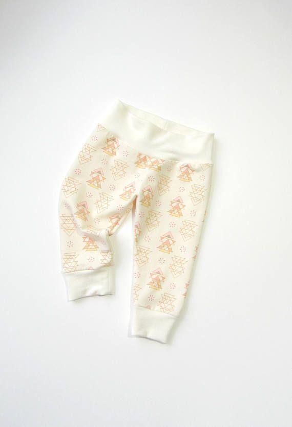 Baby gender neutral leggings-Cotton jersey leggings Baby