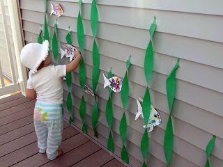 Can i force my kid into loving thr little mermaid too? Mom's Tot School: Little Mermaid Birthday Party!.