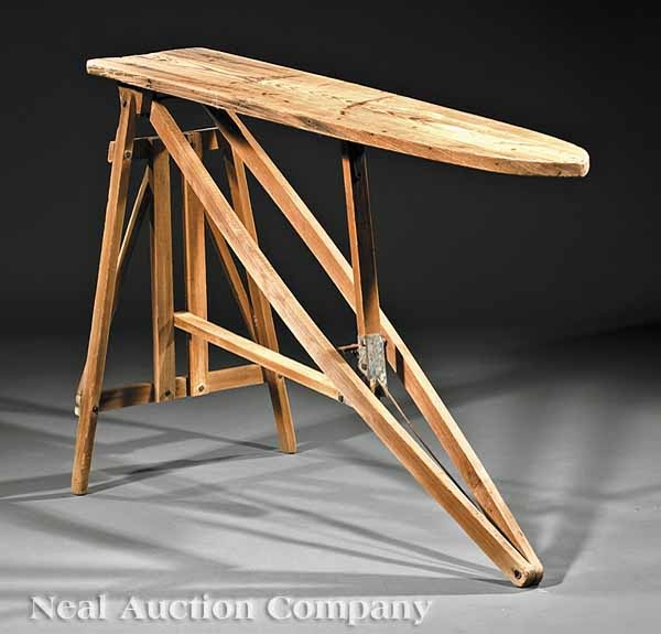 An Antique Cypress Ironing Board, early 20th c., Louisiana, of typical form - 49 Best Antique Ironing Boards Images On Pinterest Flat Irons