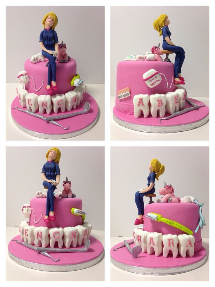 Cake Design Dentista : 17 mejores ideas sobre Pastel De Dentista en Pinterest ...