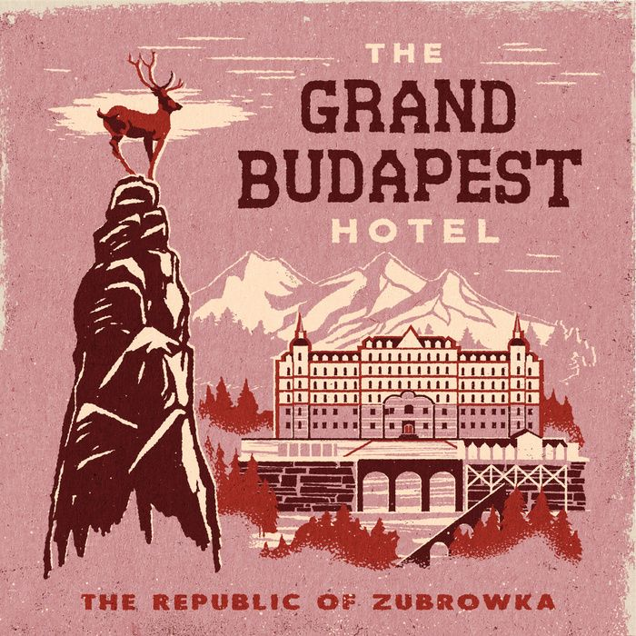 THE GRAND BUDAPEST HOTEL Art Print by Steven Rhodes | Society6