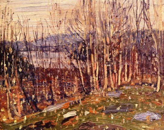 First Snow, Canoe Lake, 1915  Tom Thomson