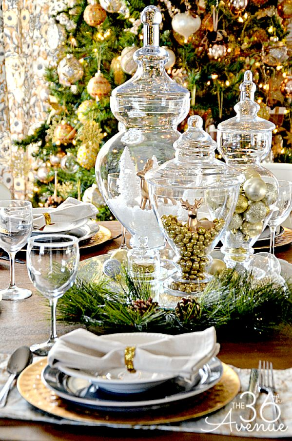 241 best images about christmas tablescapes and place
