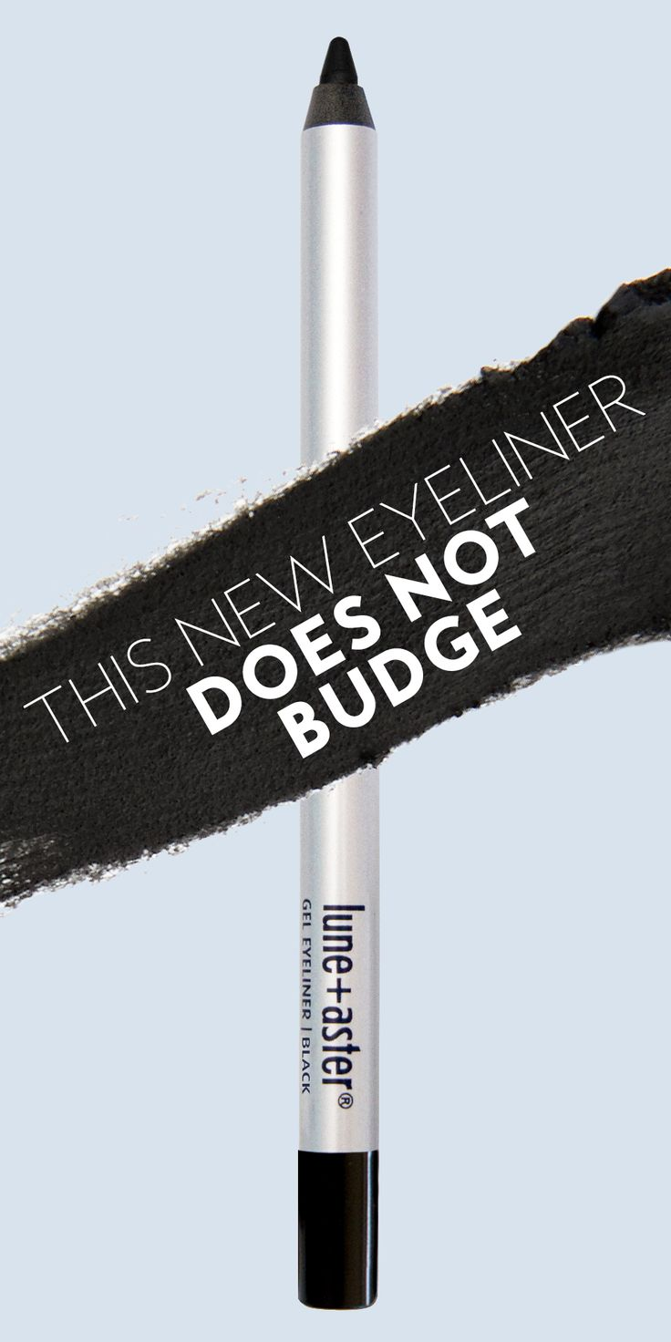 Pure frustration is smudging eyeliner, but Lune+Aster's new Dawn to Dusk Eyeliner is like the permanent markers of eyeliner. Learn more about its smudge-proof power here.
