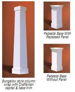 Bungalows and columns on pinterest for Bungalow columns
