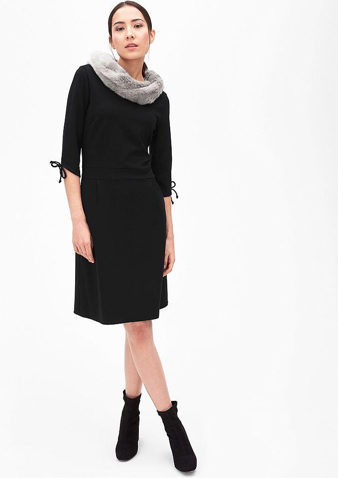 s.Oliver BLACK LABEL Jerseykleid mit Schleifen-Details Jetzt bestellen unter: https://mode.ladendirekt.de/damen/bekleidung/kleider/jerseykleider/?uid=746068f0-88b5-57dd-9e0e-a51628c4e21b&utm_source=pinterest&utm_medium=pin&utm_campaign=boards #kleider #jerseykleider #bekleidung