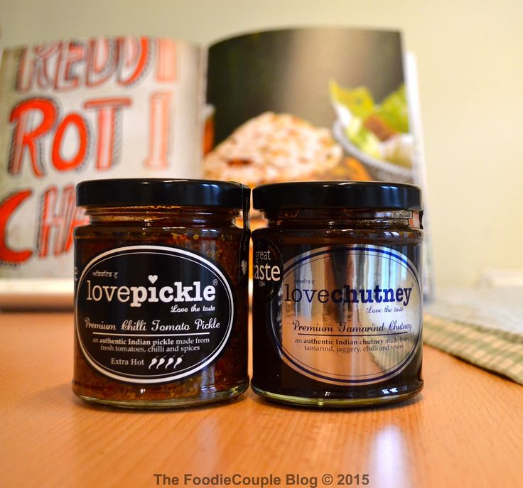 Love Pickle & Love Chutney